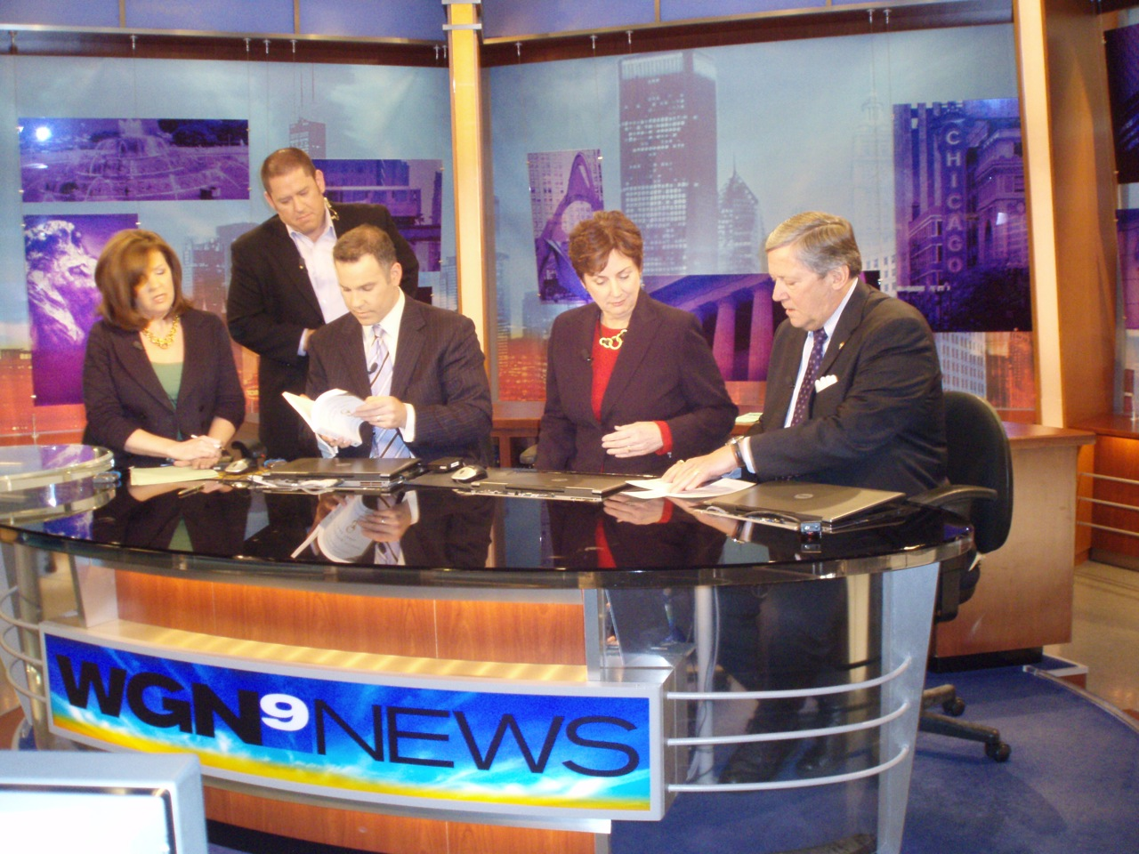 Love and Marriage Experts, Dr. Charles D. Schmitz and Dr. Elizabeth A. Schmitz inteview on WGN Morning News